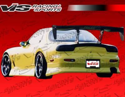 RX7 - Rear Bumper - VIS Racing. - Mazda RX-7 VIS Racing B Speed Rear Bumper - 93MZRX72DBSP-002