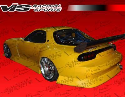 RX7 - Rear Bumper - VIS Racing. - Mazda RX-7 VIS Racing B Speed Widebody Rear Bumper - 93MZRX72DBSPWB-002