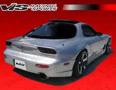 RX7 - Rear Bumper - VIS Racing - Mazda RX-7 VIS Racing R Speed Rear Bumper - 93MZRX72DRSP-002