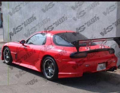 RX7 - Rear Bumper - VIS Racing - Mazda RX-7 VIS Racing Tracer Rear Bumper - 93MZRX72DTRA-002