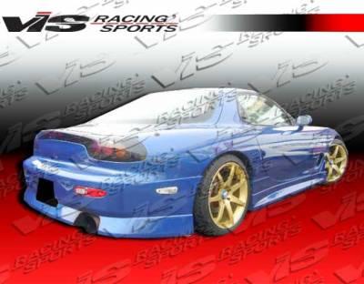 RX7 - Rear Bumper - VIS Racing - Mazda RX-7 VIS Racing V Speed Rear Bumper - 93MZRX72DVSP-002