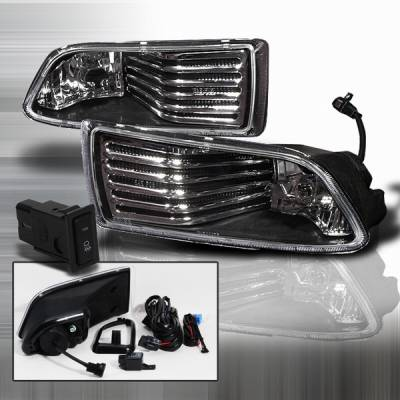 Headlights & Tail Lights - Fog Lights - Custom Disco - Scion tC Custom Disco Black OEM Fog Lights - LF-TC05JMOEM