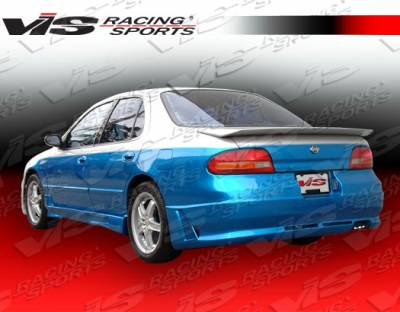 Altima - Rear Bumper - VIS Racing - Nissan Altima VIS Racing Omega Rear Bumper - 93NSALT4DOMA-002