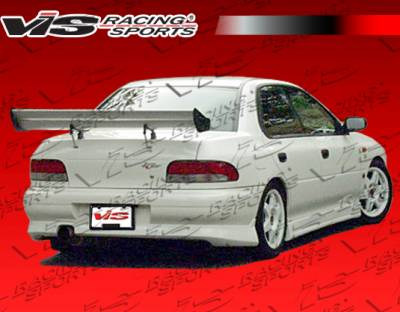 Impreza - Rear Bumper - VIS Racing - Subaru Impreza VIS Racing Z Speed Rear Bumper - 93SBIMP4DZSP-002