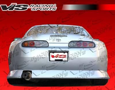 Supra - Rear Bumper - VIS Racing - Toyota Supra VIS Racing B Speed Rear Bumper - 93TYSUP2DBSP-002