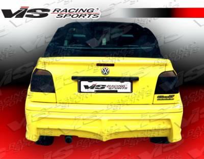 Golf - Rear Bumper - VIS Racing - Volkswagen Golf VIS Racing Xtreme Rear Lip - 93VWGOF2DEX-012
