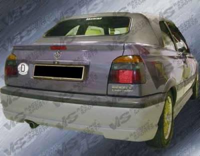Golf - Rear Bumper - VIS Racing - Volkswagen Golf VIS Racing Rabiat Rear Lip - 93VWGOF2DRAB-012