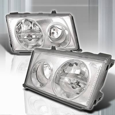 Headlights & Tail Lights - Headlights - Custom Disco - Mercedes-Benz E Class Custom Disco Head Lights - LH-BW12494-KS