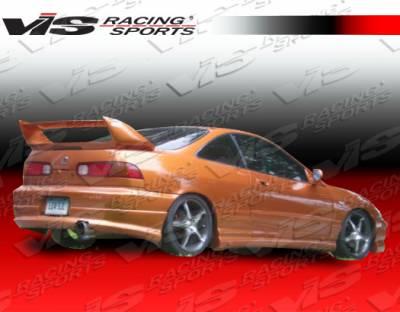 Integra 2Dr - Rear Bumper - VIS Racing - Acura Integra 2DR VIS Racing Dragster Rear Lip - 94ACINT2DDRA-012