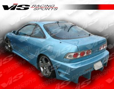 Integra 2Dr - Rear Bumper - VIS Racing - Acura Integra 2DR VIS Racing Evo 4 Rear Bumper - 94ACINT2DEVO4-002