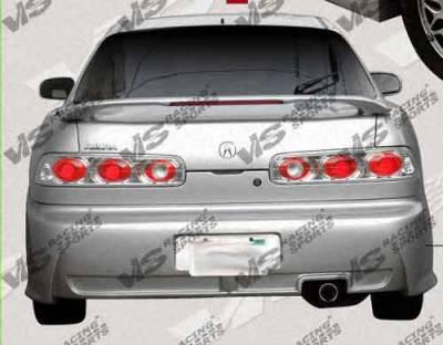 Integra 2Dr - Rear Bumper - VIS Racing - Acura Integra 2DR VIS Racing Xtreme Rear Bumper - 94ACINT2DEX-002