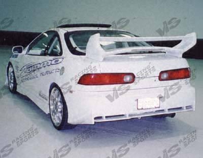Integra 2Dr - Rear Bumper - VIS Racing - Acura Integra 2DR VIS Racing Invader Rear Bumper - 94ACINT2DINV-002
