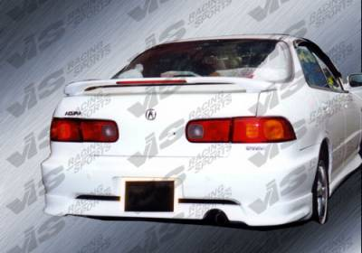 VIS Racing. - Acura Integra 2DR VIS Racing Techno R Rear Lip - 94ACINT2DTNR-012