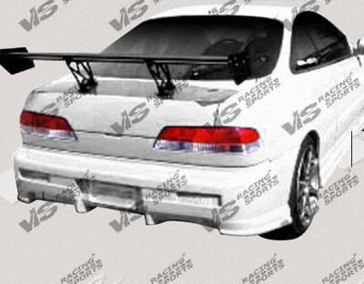 Integra 2Dr - Rear Bumper - VIS Racing - Acura Integra 2DR VIS Racing Tracer Rear Bumper - 94ACINT2DTRA-002