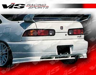 Integra 2Dr - Rear Bumper - VIS Racing - Acura Integra 2DR VIS Racing Tracer Rear Lip - 94ACINT2DTRA-012
