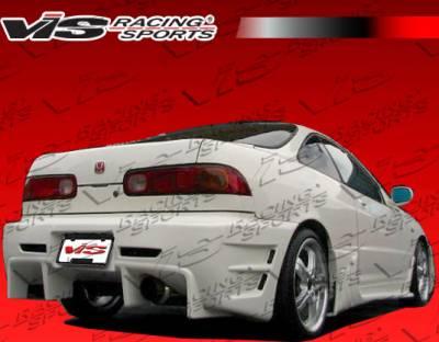 Integra 2Dr - Rear Bumper - VIS Racing - Acura Integra VIS Racing Wave Rear Bumper - 94ACINT2DWAV-002