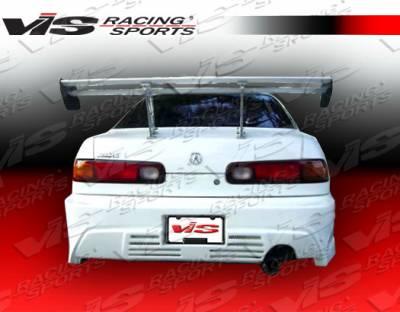 Integra 2Dr - Rear Bumper - VIS Racing - Acura Integra 2DR VIS Racing Xtreme GT Rear Bumper - 94ACINT2DXGT-002