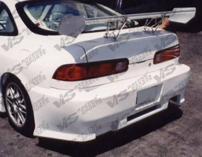 Integra 2Dr - Rear Bumper - VIS Racing - Acura Integra 2DR VIS Racing Z1 boxer Rear Bumper - 94ACINT2DZ1-002