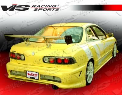 Integra 4Dr - Rear Bumper - VIS Racing - Acura Integra 4DR VIS Racing Kombat Rear Bumper - 94ACINT4DKOM-002