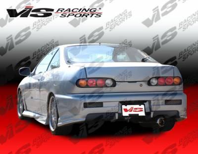 Integra 4Dr - Rear Bumper - VIS Racing - Acura Integra 4DR VIS Racing Tracer Rear Bumper - 94ACINT4DTRA-002