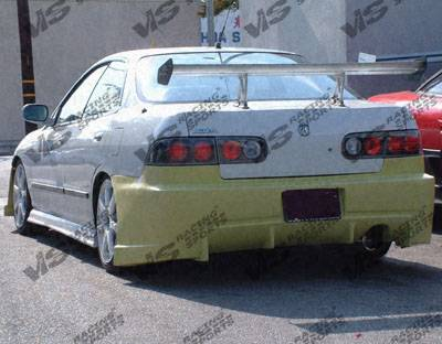 Integra 4Dr - Rear Bumper - VIS Racing - Acura Integra 4DR VIS Racing TSC Rear Bumper - 94ACINT4DTSC-002