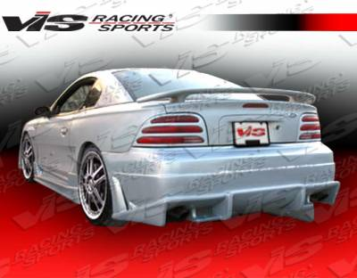Mustang - Rear Bumper - VIS Racing - Ford Mustang VIS Racing Ballistix Rear Bumper - 94FDMUS2DBX-002