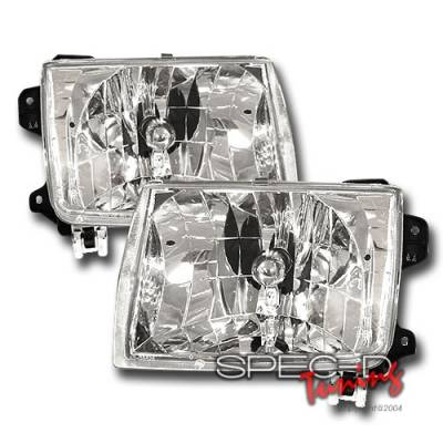 Headlights & Tail Lights - Headlights - Custom Disco - Nissan Frontier Custom Disco Headlights - LH-FRO98-KS