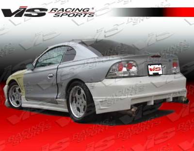 Mustang - Rear Bumper - VIS Racing - Ford Mustang VIS Racing Battle Z Rear Bumper - 94FDMUS2DBZ-002