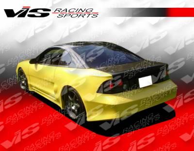 Mustang - Rear Bumper - VIS Racing. - Ford Mustang VIS Racing Stalker-4 Rear Bumper - 94FDMUS2DSTK4-002