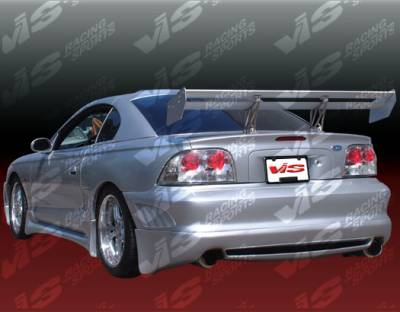 Mustang - Rear Bumper - VIS Racing - Ford Mustang VIS Racing Viper Rear Bumper - 94FDMUS2DVR-002