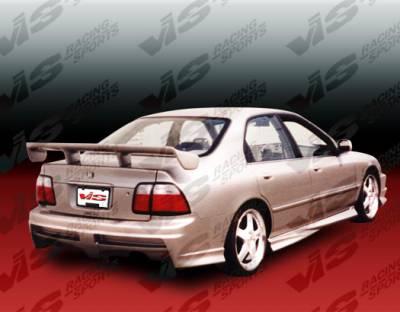 Accord 2Dr - Rear Bumper - VIS Racing - Honda Accord 2DR & 4DR VIS Racing Xtreme Rear Bumper - 94HDACC2DEX-002