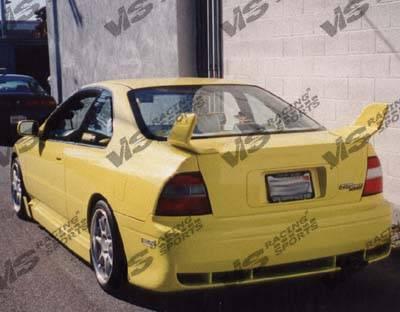 Accord 2Dr - Rear Bumper - VIS Racing - Honda Accord 2DR & 4DR VIS Racing Techno R Rear Lip - 94HDACC2DTNR-012