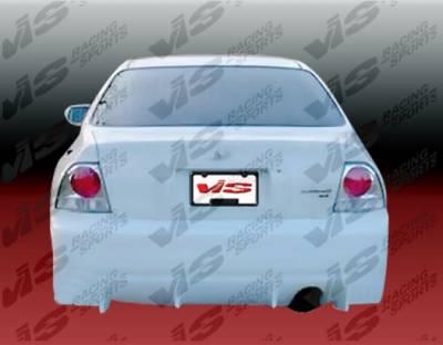Accord 2Dr - Rear Bumper - VIS Racing - Honda Accord 2DR & 4DR VIS Racing TSC Rear Bumper - 94HDACC2DTSC-002