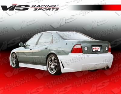 Accord 2Dr - Rear Bumper - VIS Racing - Honda Accord 2DR & 4DR VIS Racing TSC-3 Rear Bumper - 94HDACC2DTSC3-002