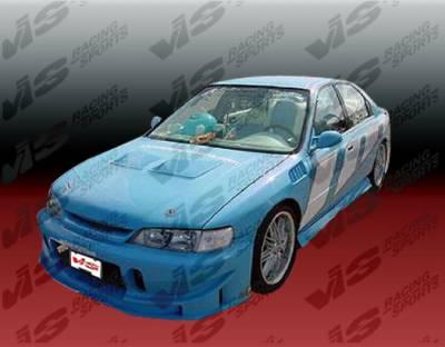 Accord 2Dr - Rear Bumper - VIS Racing - Honda Accord VIS Racing SW TSC Rear Bumper - 94HDACCSWTSC-001