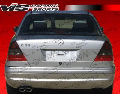 C Class - Rear Bumper - VIS Racing - Mercedes-Benz C Class VIS Racing B-Spec Rear Bumper - 94MEW2024DBS-002