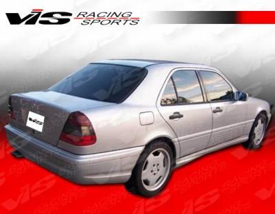 C Class - Rear Bumper - VIS Racing - Mercedes-Benz C Class VIS Racing C43 Rear Bumper - 94MEW2024DC43-002