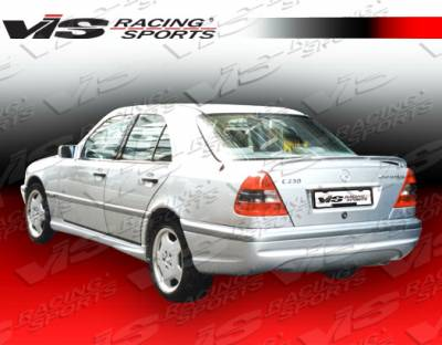 C Class - Rear Bumper - VIS Racing - Mercedes-Benz C Class VIS Racing Euro Tech-2 Rear Bumper - 94MEW2024DET2-002