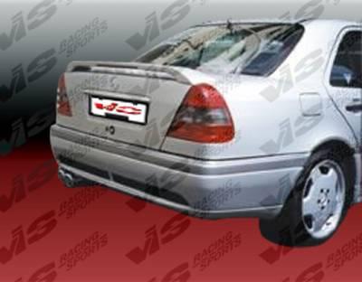 C Class - Rear Bumper - VIS Racing - Mercedes-Benz C Class VIS Racing Laser Rear Bumper - 94MEW2024DLS-002