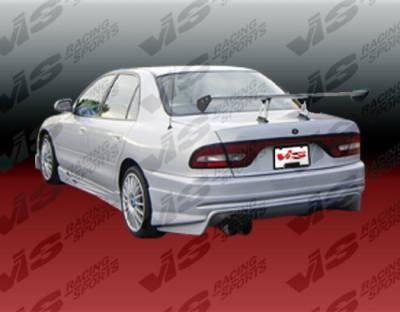 Galant - Rear Bumper - VIS Racing - Mitsubishi Galant VIS Racing Invader Rear Bumper - 94MTGAL4DINV-002