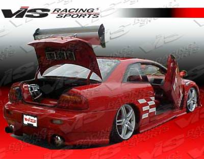 Sebring 2Dr - Rear Bumper - VIS Racing - Chrysler Sebring 2DR VIS Racing Viper Rear Bumper - 95CYSEB2DVR-002