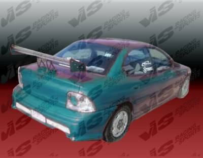 Neon 2Dr - Rear Bumper - VIS Racing - Dodge Neon VIS Racing Kombat Rear Bumper - 95DGNEO2DKOM-002