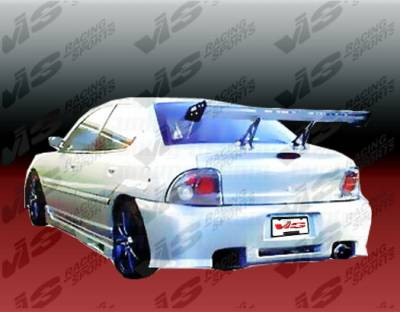 Neon 2Dr - Rear Bumper - VIS Racing - Dodge Neon VIS Racing Z1 boxer Rear Bumper - 95DGNEO2DZ1-002