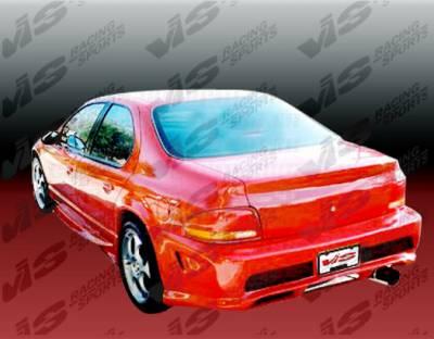 Stratus 4Dr - Rear Bumper - VIS Racing - Dodge Stratus 4DR VIS Racing Kombat Rear Bumper - 95DGSTR4DKOM-002