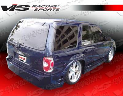 Explorer - Rear Bumper - VIS Racing - Ford Explorer VIS Racing Outcast Rear Bumper - 95FDEPR4DOC-002
