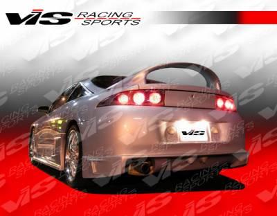 Eclipse - Rear Bumper - VIS Racing - Mitsubishi Eclipse VIS Racing Battle Z Rear Bumper - Polyurethane - 95MTECL2DBZ-002P
