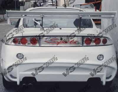 Eclipse - Rear Bumper - VIS Racing - Mitsubishi Eclipse VIS Racing Invader-6 Rear Bumper - 95MTECL2DINV6-002