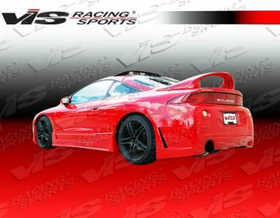 Eclipse - Rear Bumper - VIS Racing - Mitsubishi Eclipse VIS Racing TSC-3 Rear Bumper - 95MTECL2DTSC3-002