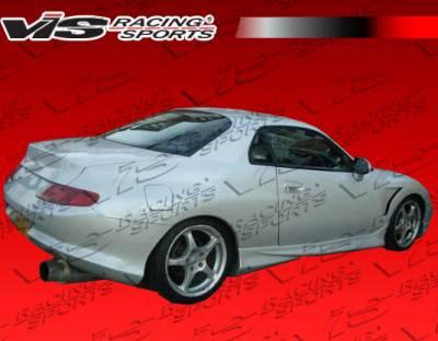 FTO - Rear Bumper - VIS Racing - Mitsubishi FTO VIS Racing Invader Rear Bumper - 95MTFTO2DINV-002