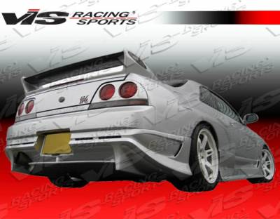 Skyline - Rear Bumper - VIS Racing - Nissan Skyline VIS Racing Demon Rear Bumper - 95NSR33GTRDEM-002